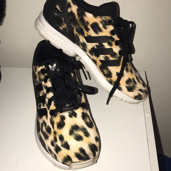 d32b9df26169 adidas Shoes | Zx Flux Cheetah Print | Poshmark